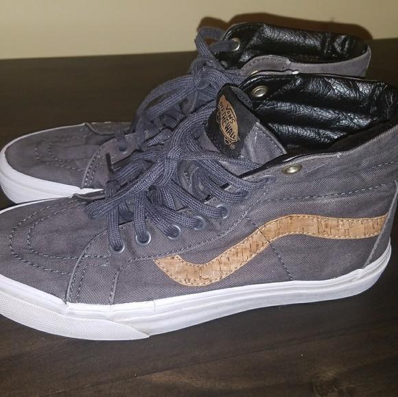 7ecfda5abd Vans Shoes - Vans Cork Twill high top
